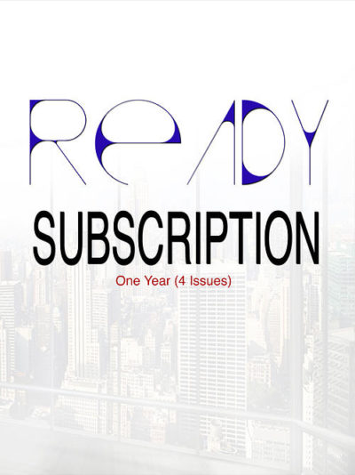 READY Subscription: Yearly (4 issues)
